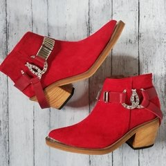 Lucky Red Suede