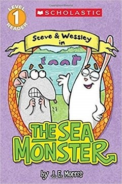 Scholastic Reader! Level 1-Steve and Wessley: The Sea Monster