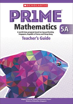 PRIME Mathematics  - Teacher's Guide: 5A