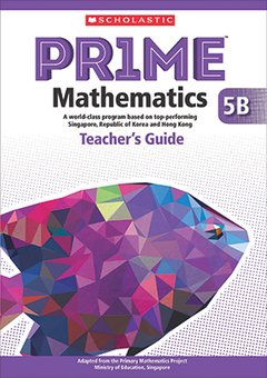 PRIME Mathematics   - Teacher's Guide: 5B