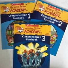 Geronimo Stilton Comprehension Pawbook Bundle (1 to 3)