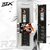 Memória RZX DDR4 16GB 2666Mhz BLACK - Modelo RZX-D4D16M2666B/16G Desktop - Designed by GAMERS