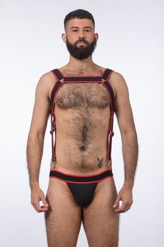 Conjunto de Harness Suspensório Poison Colors