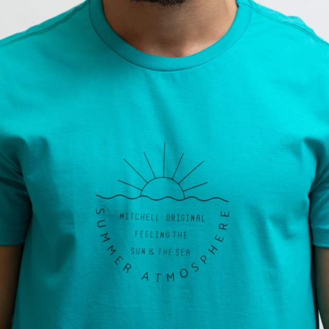 T-SHIRT MALHA SUMMER ATMOSPHERE - comprar online