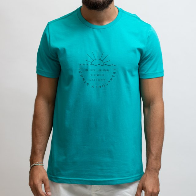 T-SHIRT MALHA SUMMER ATMOSPHERE