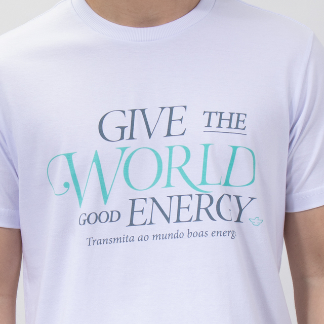 T-SHIRT GOOD ENERGY - 01270 - comprar online