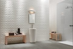 PANEL DECORATIVO 3D PVC REVESTIMIENTO PARED DIAMANTE 50X50 - Bizantina