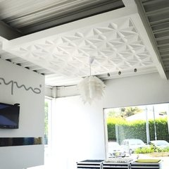 PANEL DECORATIVO 3D PVC REVESTIMIENTO PARED DIAMANTE 50X50 - tienda online
