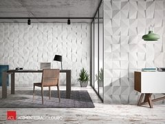 PANEL DECORATIVO 3D PVC REVESTIMIENTO PARED CUADRADOS 50X50