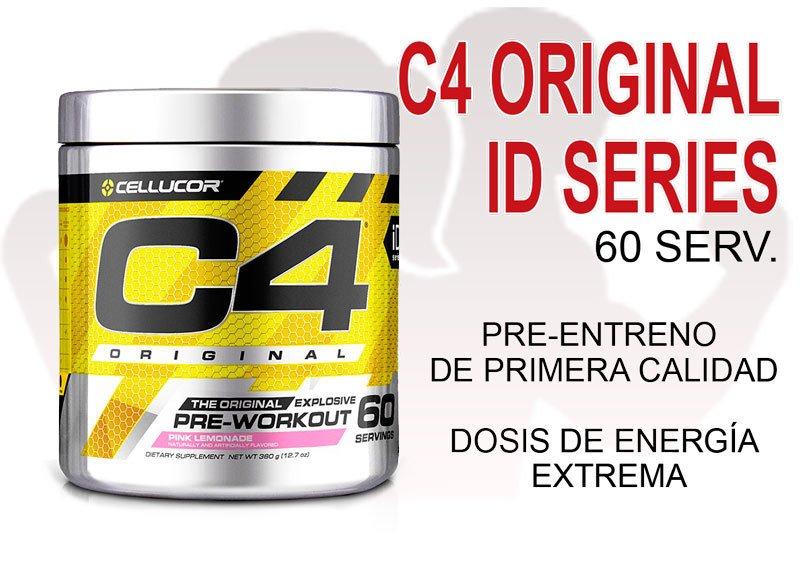 C4 ORIGINAL ID SERIES (60 serv.) - Cellucor