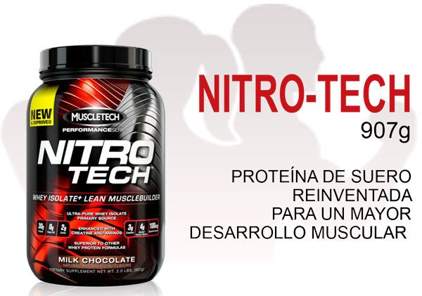 Nitro-Tech (2lb/907g) - MUSCLETECH