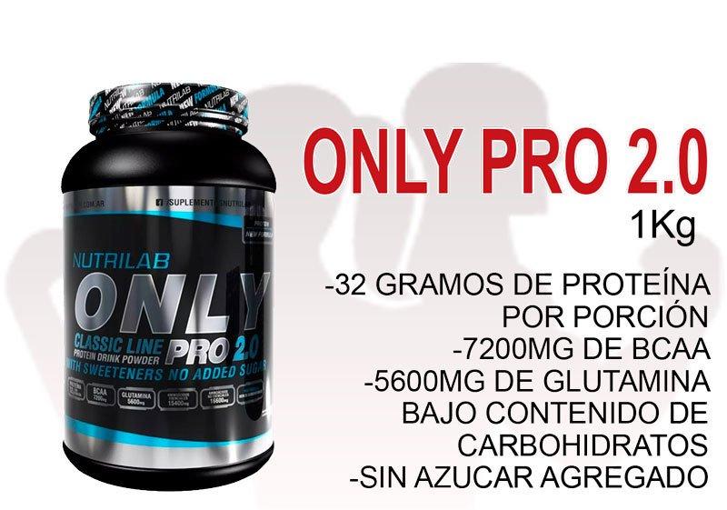 ONLY PRO 2.0 (1kg) - NUTRILAB