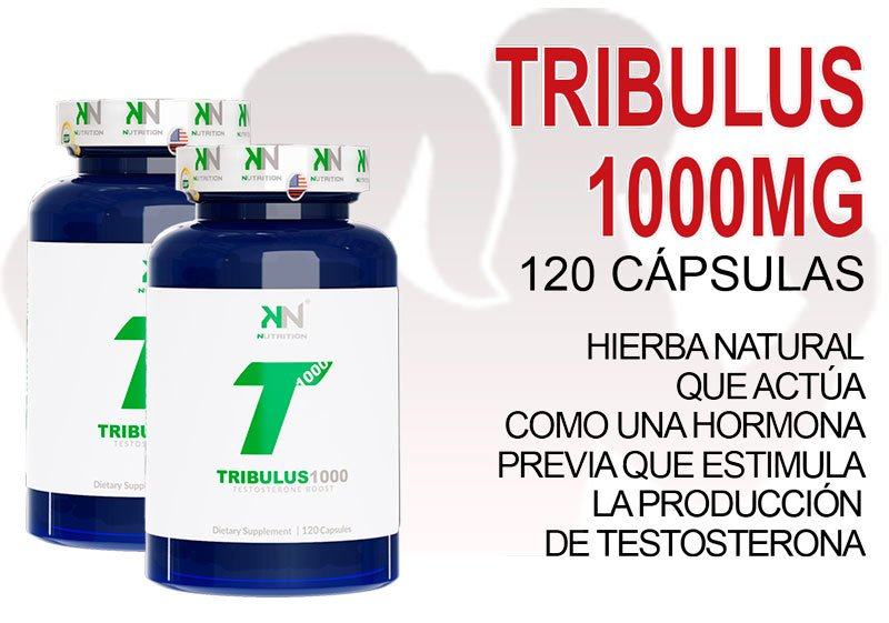 Tribulus 1000MG (120caps) - KN NUTRITION