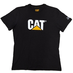REMERA CAT SLIM FIT LOGO TEE