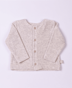 Cardigan plush palha