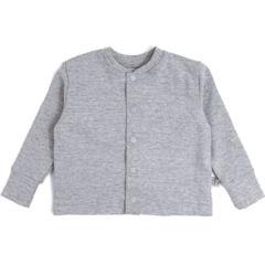Cardigan basic mescla