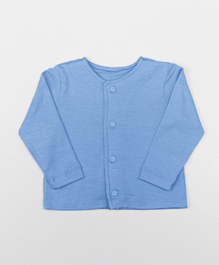 Cardigan modal frozen blue