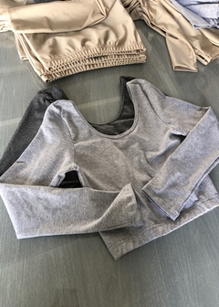 Outfit Dance Crop + basic leggings - Estate Atenta