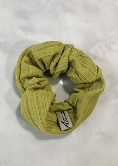 scrunchies lima green