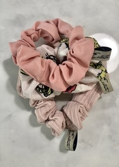 Scrunchies pink pack