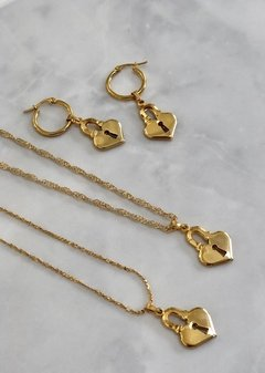 Necklace Love Lock