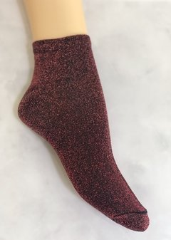 Glitter Socks Red
