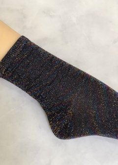 Glitter Socks Black