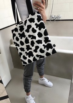 TOTE BAG COW PRINT