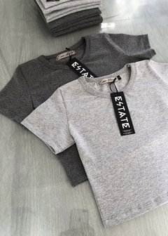 Cotton Set Crop Tee + Leggings - comprar online