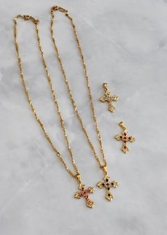Neckless Cross Strass
