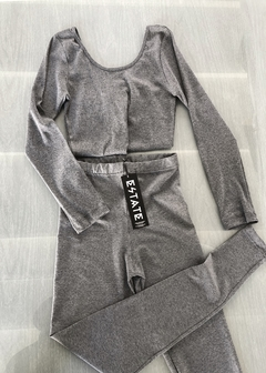 Outfit Dance Crop + basic leggings - comprar online
