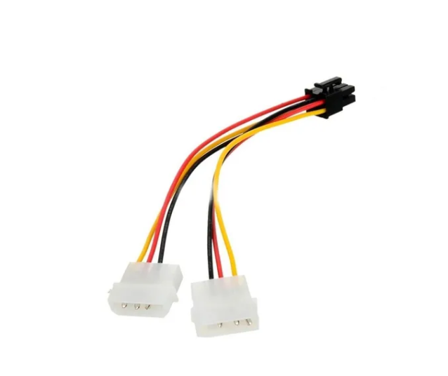 Adaptador 6 Pines A 2 Molex Para Placa Video - TecnoEshop CBA