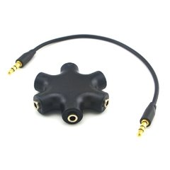Splitter Mini Plug 3,5mm - 5 Bocas - comprar online
