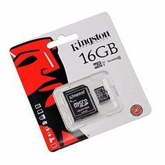Tarjeta Memoria Micro Sd 16gb Kingston Clase 10 80mb/s en internet