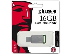 Pendrive Kingston 16gb Dt50 Datatraveler Usb 3.0 3.1 - tienda online