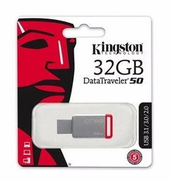 Pendrive Kingston 32gb Dt50 Datatraveler Usb 3.0 3.1 - tienda online