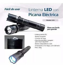 Linterna Led Con Picana Recargable Defensa Personal en internet