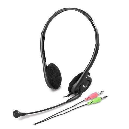 Auriculares Vincha + Microfono Genius Hs-200c Skype Chat Pc