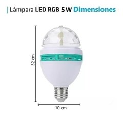 Lampara Led Giratorio 3w Foco 3 Colores Bolichera - TecnoEshop CBA