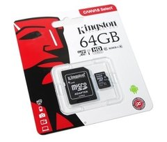 Tarjeta Memoria Micro Sd 64gb Kingston Clase 10 80mb/s - TecnoEshop CBA