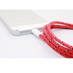 Cable Usb A Lightning 2m Mallado iPhone Se 6 7 8 X en internet
