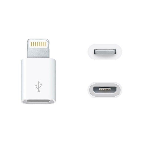 Adaptador Lightning 8 Pines A Micro Usb Iphone 5 6 7 8 X