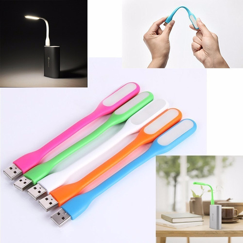 Imagen de Luz Led Lampara Notebook Portatil Flexible Usb Linterna