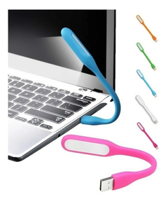 Luz Led Lampara Notebook Portatil Flexible Usb Linterna - TecnoEshop CBA