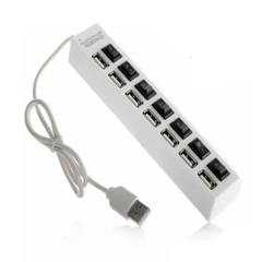 Hub Usb 7 Puerto Extension Multiplicador Switch Luces - comprar online