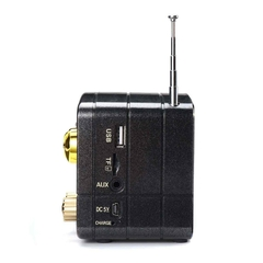 Radio Portatil Vintage Am Fm Retro Bluetooth Aux Usb Tf - comprar online