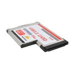 Tarjeta Express Card 54mm A 2 Usb 3.0 Notebooks - comprar online