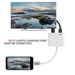 Cable Lightning A Hdmi Mira En Tv Iphone 5 6 7 8  Ipad - TecnoEshop CBA