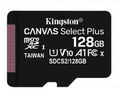Tarjeta Memoria Kingston Canvas Plus Micro Sd 128gb 100mb/s en internet