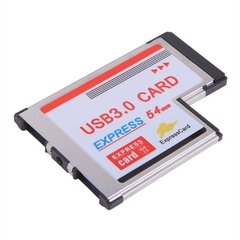 Tarjeta Express Card 54mm A 2 Usb 3.0 Notebooks